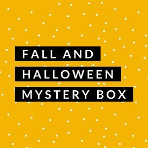 Six Piece Halloween themed Resller Box  Only $30